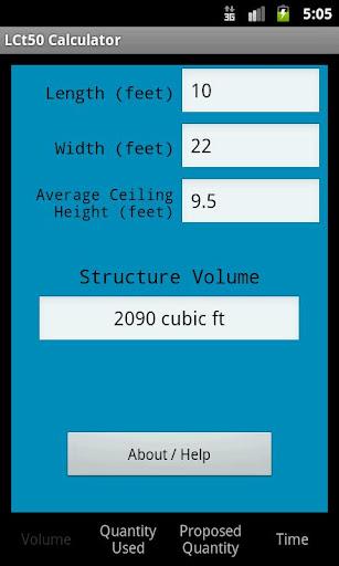 LCt50 Calculator