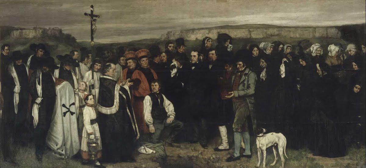 Du Realisme En Peinture Courbet Provoque Le Scandale Vivelalecture