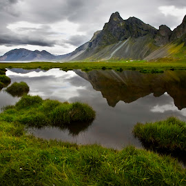 Eystrahorn in Iceland by Brynjar Ágústsson - Landscapes Mountains & Hills ( landslag, nordic-countries, eystrahorn, travel, landscape, wilderness, iceland, nature, snow, outdoor, southeast iceland, ísland, summer, scenery, suðausturland, landscapes )