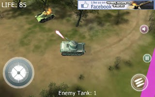 Screenshot of War World Tank