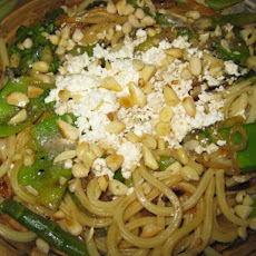 Pasta With Sugar Snap Peas, Asparagus, Ricotta and Brown Butter