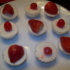 Mini Cheesecake Bites - No Bake