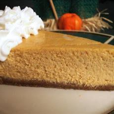 Harvest Pumpkin Cheesecake