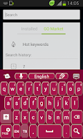 Screenshot of Keyboard Pink