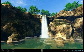 Screenshot of Waterfall in the jungle