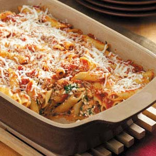 Baked Mostaccioli No Meat Recipes