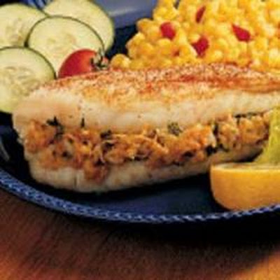 Fish Fillets with Stuffing