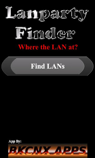 Lanparty Finder