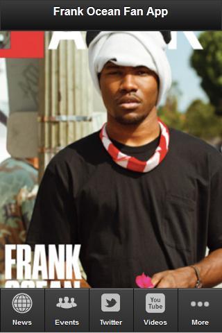 Frank Ocean Fan App