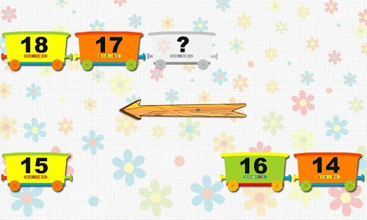Sequences of Numbers for Kids - screenshot
