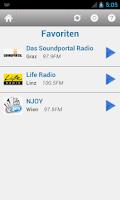 Screenshot of Österreich Radio