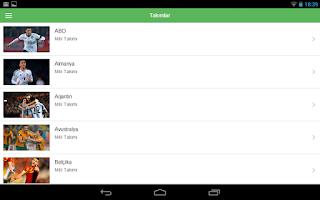 Screenshot of TRT Dünya Kupası 2014