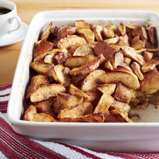 Aunt Elaine's Apple Cinnamon Baked French Toast