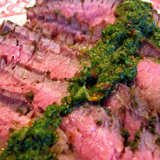 Grilled Flank Steak Argentine