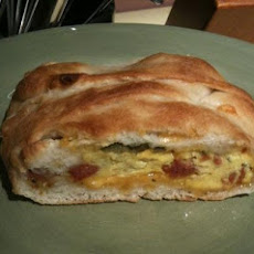 Jalapeno, Sausage, Jack, and Egg Breakfast Braid