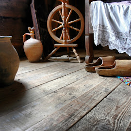 Inside an old house by Dalia Kager - Artistic Objects Still Life