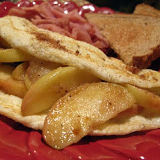Apple Pie Omelette