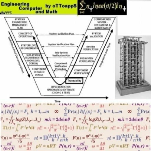 Engineering Math Theme Crazy LOGO-APP點子