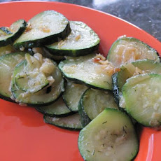 Super Easy: Zucchini Side Dish
