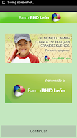 Screenshot of Banco BHD León