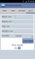 Screenshot of Calorie Counter Slim Assistant
