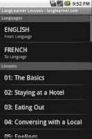 Screenshot of Learn French + Pic Dictionary