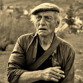 Florea from Biertan by Mirela Savu - People Portraits of Men ( portret, old man )