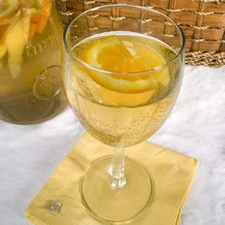 White Peach Sangria Ginger Ale Recipes