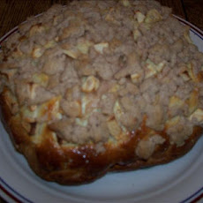 Apple Bread With a Streusel Topping