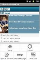 Screenshot of OnlineNewspaper UK