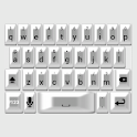 White Pearl Keyboard Skin icon