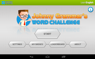 Screenshot of Johnny Grammar Word Challenge