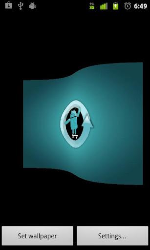 Cyanogen Flag Live Wall