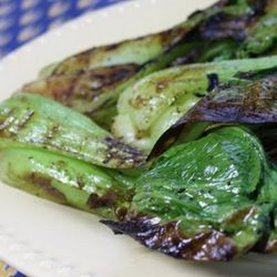 Grilled Bok Choy
