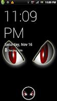 Screenshot of Creature Eyes Live Wallpaper