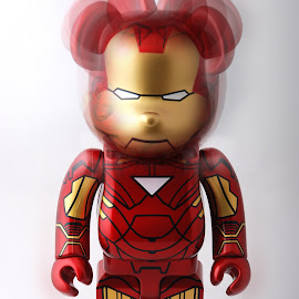 iron bear toy by Woo Yuen Foo - Artistic Objects Toys