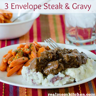 3 Envelope Steak and Gravy