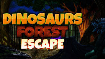Screenshot of Dinosaur Forest Escape