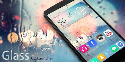 Screenshot of Glass GO Launcher Theme