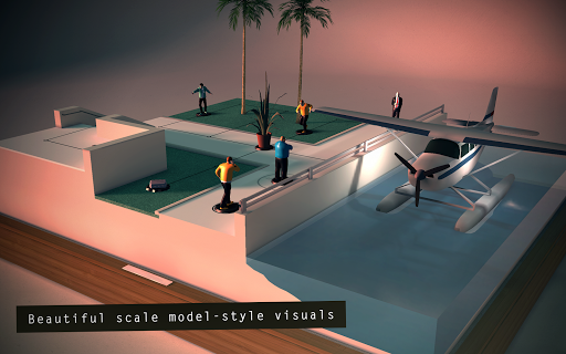Hitman GO - screenshot