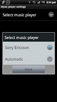 Screenshot of Music Player Smart Extension