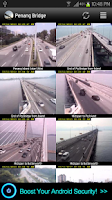 Screenshot of Penang Bridge Traffic Cam