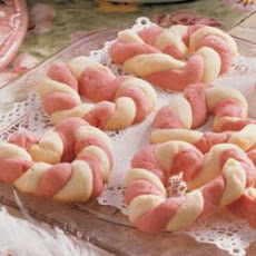Braided Sweetheart Cookies