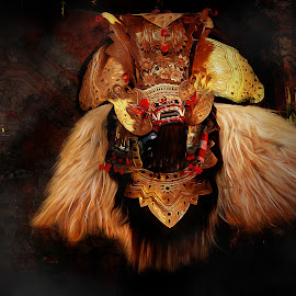 Bali_Barong by Odizt Goodson - Digital Art People