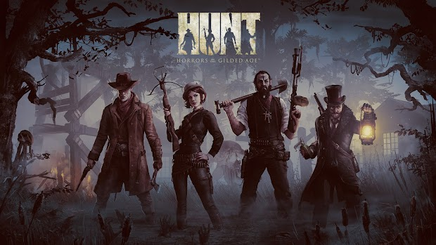 Crytek USA reveals their new game Hunt: Horrors Of The Gilded Age
