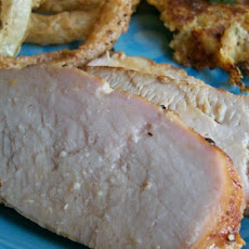 Orange-Ginger Broiled Pork Tenderloin