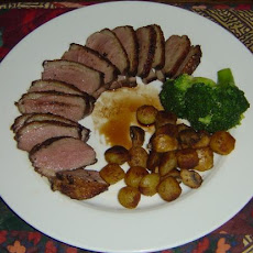 Crispy Balsamic Duck Breasts