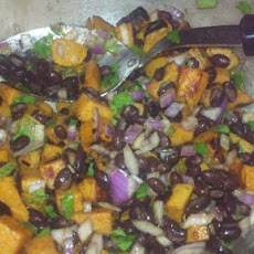 Black Bean and Sweet Potato Salad