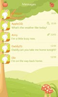 Screenshot of GO SMS Pro Mushroom ThemeEX