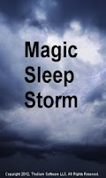 Screenshot of Magic Sleep Storm
